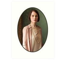 Lady Mary Crawley Art Print