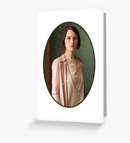 Lady Mary Crawley Greeting Card