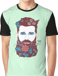Ginger Green Man Graphic T-Shirt