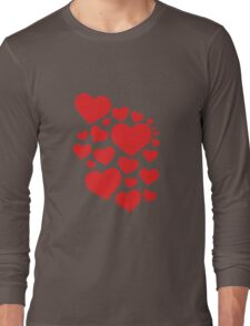 Heart Art Long Sleeve T-Shirt