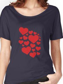 Heart Art Women's Relaxed Fit T-Shirt