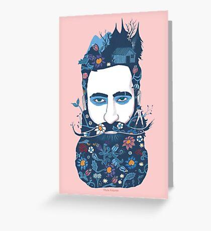 The little beard cutter Greeting Card