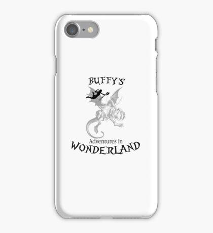 Buffy's  Adventures in Wonderland iPhone Case/Skin