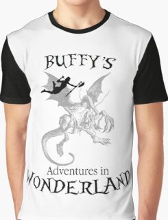 Buffy's  Adventures in Wonderland Graphic T-Shirt
