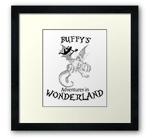 Buffy's  Adventures in Wonderland Framed Print