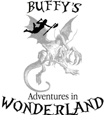 Buffy's  Adventures in Wonderland Sticker