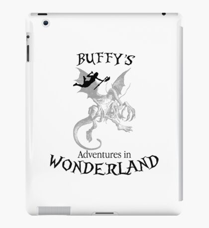 Buffy's  Adventures in Wonderland iPad Case/Skin