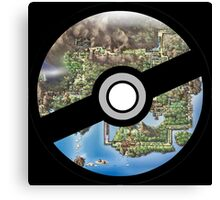 Kanto Pokeball Canvas Print