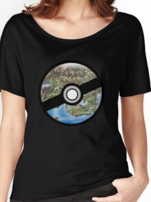 Kanto Pokeball Women's Relaxed Fit T-Shirt