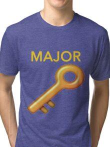 MAJOR KEY Tri-blend T-Shirt