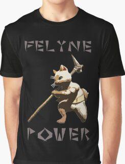 Felyne Power Graphic T-Shirt