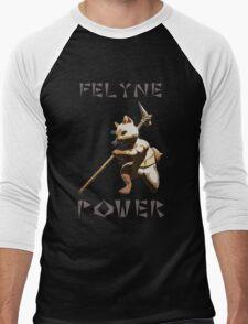 Felyne Power Men's Baseball ¾ T-Shirt