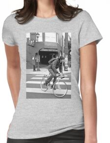 Alberta Rose Theater and Bike Womens Fitted T-Shirt