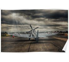 Reconnaissance Spitfire Take-Off Poster