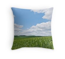 Rolling Wheatfields in the Palouse Throw Pillow