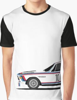Classic Race Car with M Racing Livery Graphic T-Shirt
