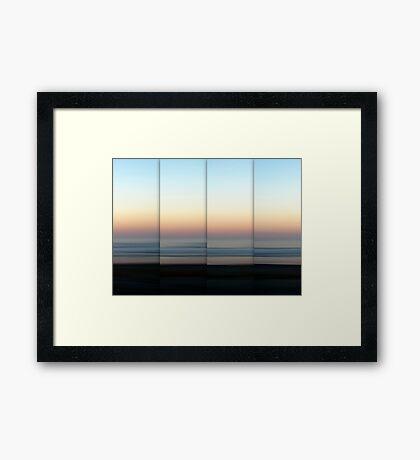 Mist Rolling In Framed Print