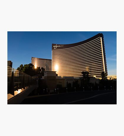 Wynn and Encore Photographic Print