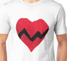 Kanye West 808s & Heartbreaks Heart Unisex T-Shirt