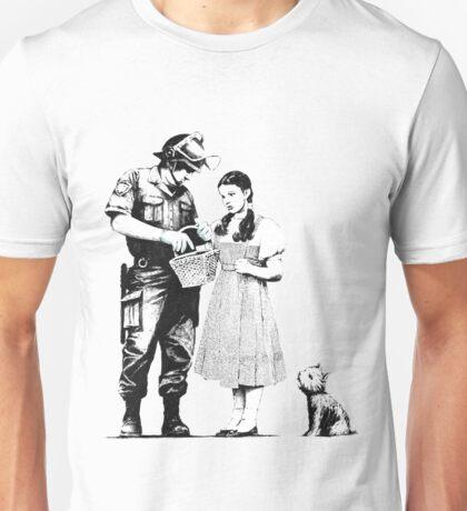 Banksy- Police Searching Dorthy Unisex T-Shirt