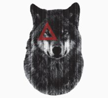 Wolf. Kids Tee