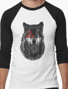 Wolf. Men's Baseball ¾ T-Shirt