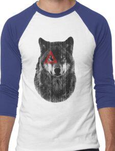 Wolf. Men's Baseball ¾ T-Shirt