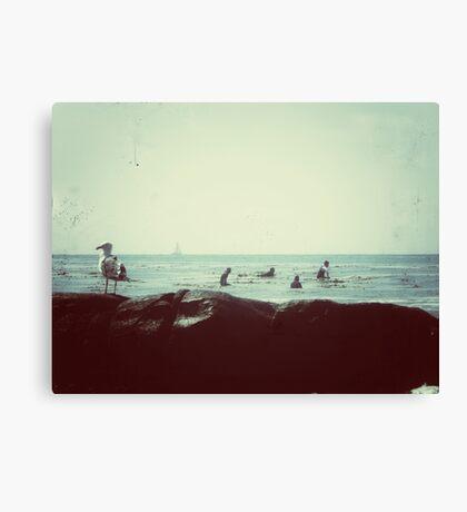 coastal vibes Canvas Print
