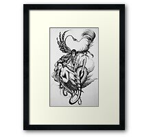 Deference to Possession  Framed Print
