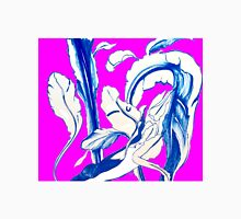 Plant in Blue Marker - Leaf of Life Miracle Leaf - FUCHSIA! Purple? Pink? Unisex T-Shirt