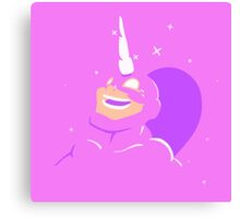 Speedrunners Unicorn Canvas Print