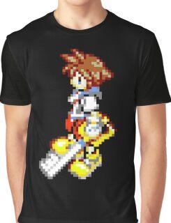 Pixel Sora Graphic T-Shirt