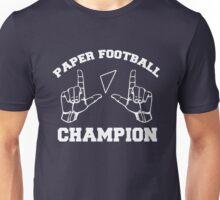 Paper Football Champion Unisex T-Shirt