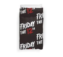 Friday the 12th Duvet Cover