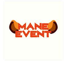 Mane Event Art Print