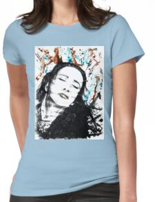 Let Go Womens Fitted T-Shirt