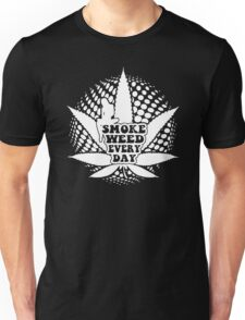 Smoke Weed Every Day Funny Men's Tshirt Unisex T-Shirt
