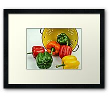 Bell Peppers Framed Print