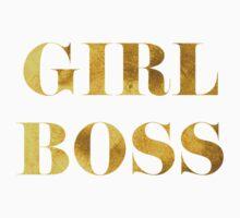 Girl Boss Faux Gold Foil One Piece - Long Sleeve