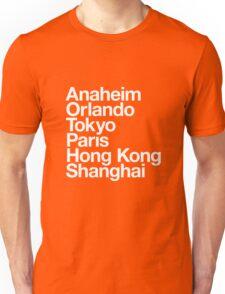 6 Magical Cities Unisex T-Shirt