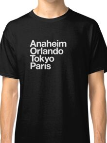 Four Magical Cities Classic T-Shirt