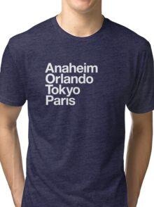 Four Magical Cities Tri-blend T-Shirt