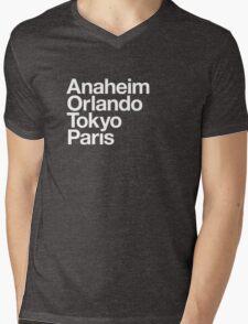 Four Magical Cities Mens V-Neck T-Shirt