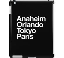 Four Magical Cities iPad Case/Skin