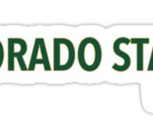 Colorado State University Sticker