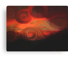 Sunset of Lost Souls  Canvas Print