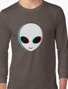 Trippy Alien Long Sleeve T-Shirt