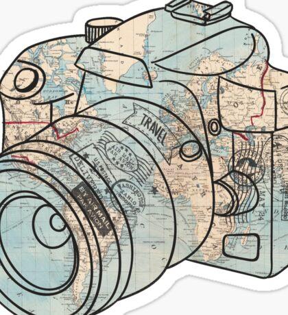Travel the World Sticker