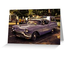 Havana Converted  Greeting Card