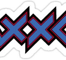 Zaxxon Sticker